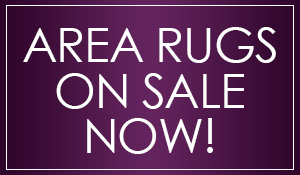 Area rugs on sale now at Abbey Carpet & Floor in Bentonville!